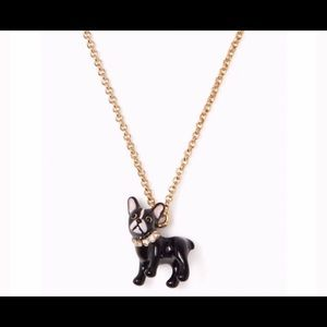 NWT Kate Spade Ma Cherie Antoine Dog Necklace